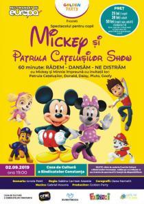 MICKEY SI PATRULA CATELUSILOR SHOW